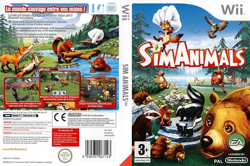 SimAnimals pochette Wii (R4AP69)