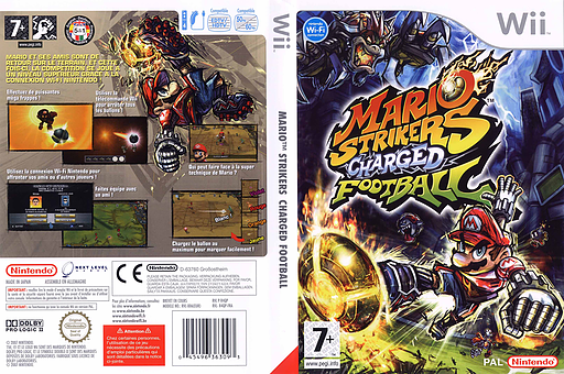 Mario Strikers Charged Football pochette Wii (R4QP01)