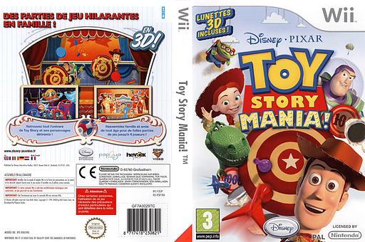 Toy Story Mania! pochette Wii (R5IP4Q)