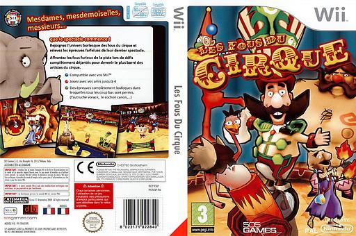 Les Fous Du Cirque pochette Wii (R5QPGT)