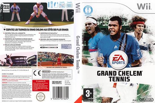 Grand Chelem Tennis pochette Wii (R5TP69)