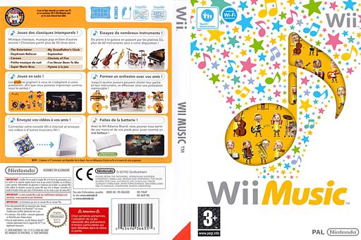 Wii Music pochette Wii (R64P01)