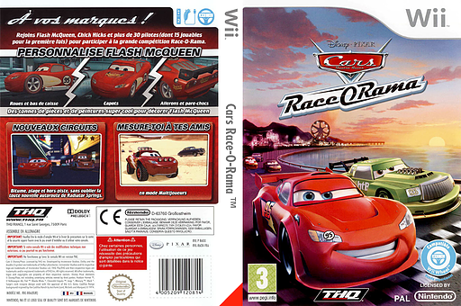 [WII] Cars Race-O-Rama - PAL - ITA