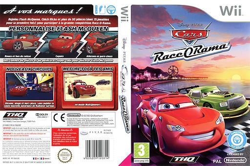 Cars Race-O-Rama pochette Wii (R6OX78)