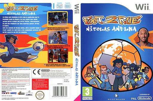 Foot 2 Rue:Nicolas Anelka pochette Wii (R8KPKM)