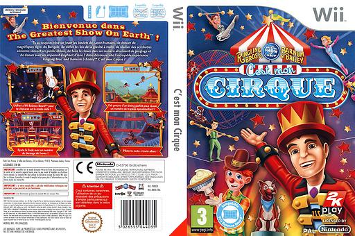 C'est mon Cirque pochette Wii (R8OX54)