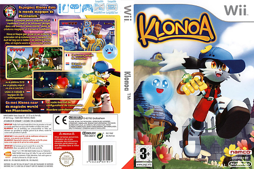 Klonoa pochette Wii (R96PAF)