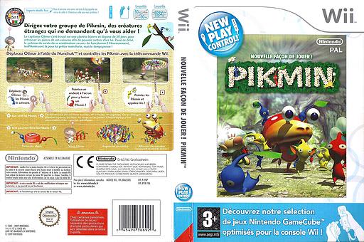 Nouvelle Façon de Jouer ! Pikmin pochette Wii (R9IP01)