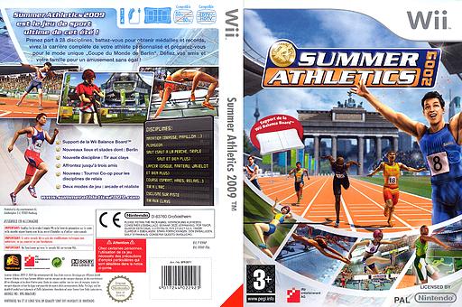 Summer Athletics 2009 pochette Wii (R9MPFR)