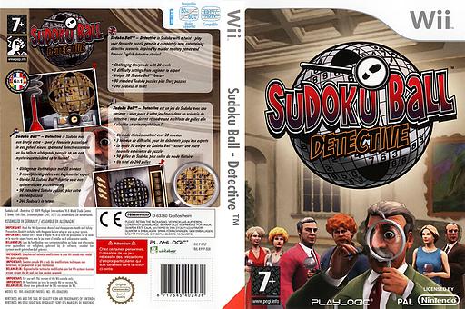 Sudoku Ball:Detective pochette Wii (R9SPPL)