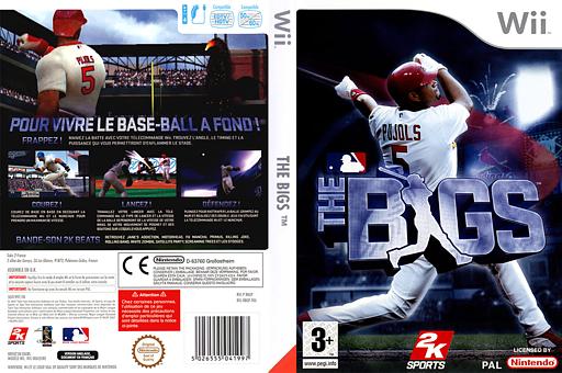The Bigs pochette Wii (RBGP54)