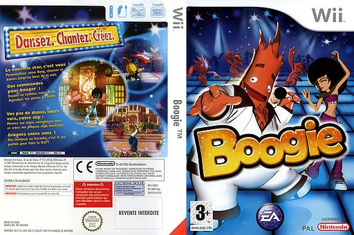 Boogie pochette Wii (RBOP69)