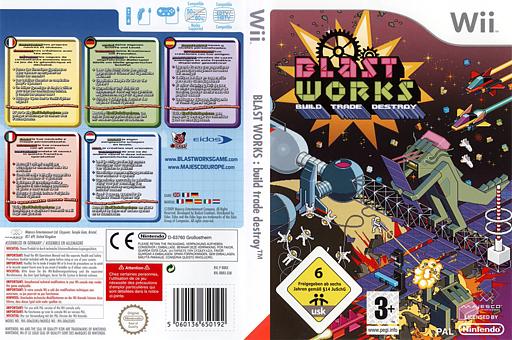 Blast Works : Build, Trade, Destroy pochette Wii (RBRP5G)