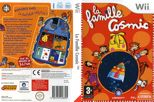 La Famille Cosmic pochette Wii (RCFP41)