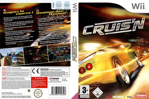 Cruis'n pochette Wii (RCRP5D)