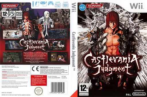 Castlevania Judgment pochette Wii (RDGPA4)