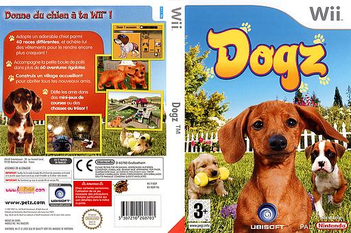 Dogz pochette Wii (RDOX41)