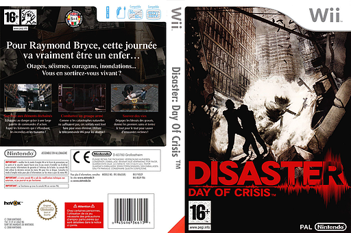 Disaster : Day of Crisis pochette Wii (RDZP01)