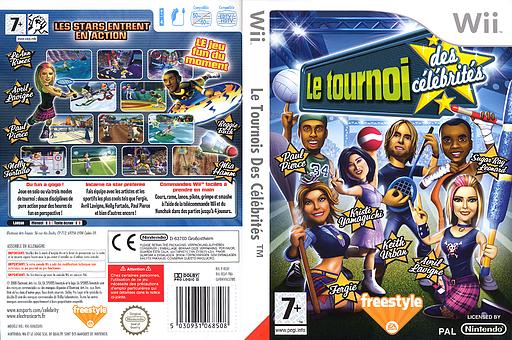 Le Tournoi Des Célébrités pochette Wii (REAP69)