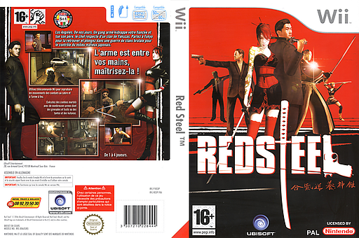 Red Steel pochette Wii (REDP41)