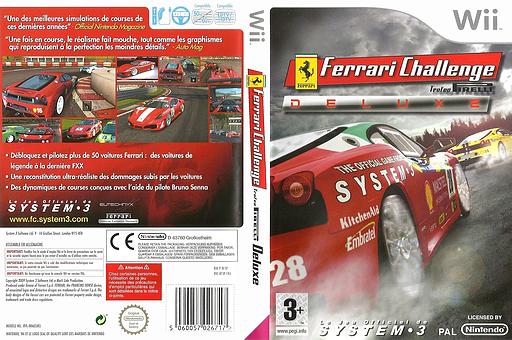 Ferrari Challenge pochette Wii (RF3P6M)