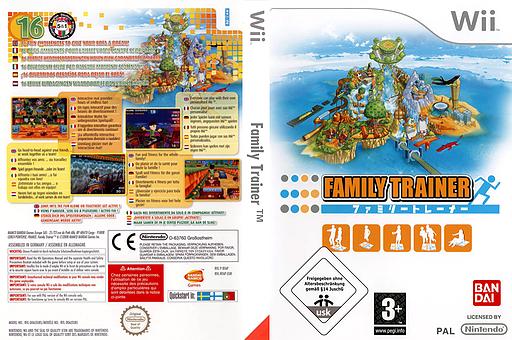 Family Trainer pochette Wii (RFAPAF)