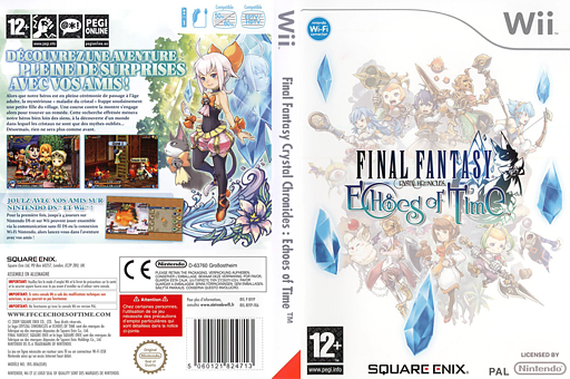 Final Fantasy Crystal Chronicles : Echoes of Time pochette Wii (RFFPGD)