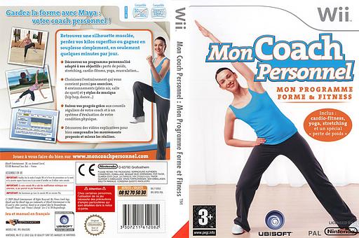 Mon Coach Personnel:Mon Programme Forme et Fitness pochette Wii (RFKP41)
