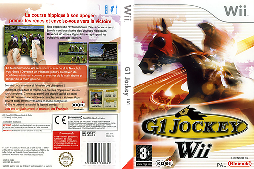 G1 Jockey Wii pochette Wii (RGIPC8)