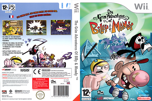 The Grim Adventures of Billy & Mandy pochette Wii (RGMP5D)
