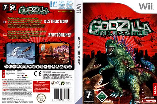 Godzilla Unleashed pochette Wii (RGZP70)