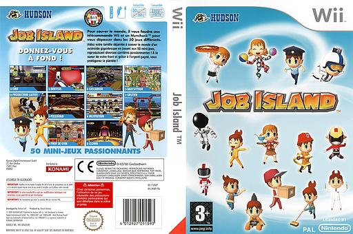Job Island pochette Wii (RHKP18)