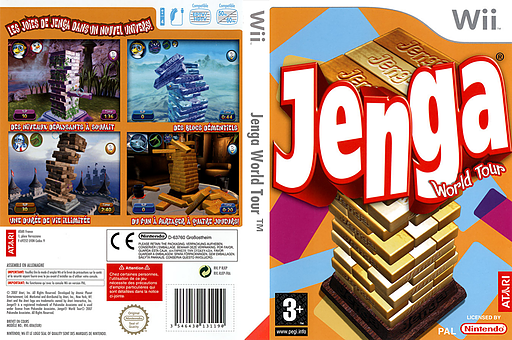 Jenga World Tour pochette Wii (RJEP70)