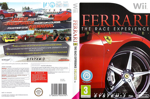 Ferrari: The Race Experience pochette Wii (RJIP6M)