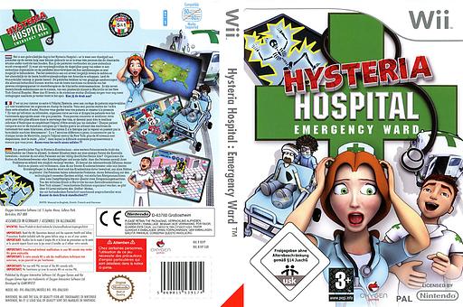 Hysteria Hospital: Emergency Ward pochette Wii (RJVPGN)