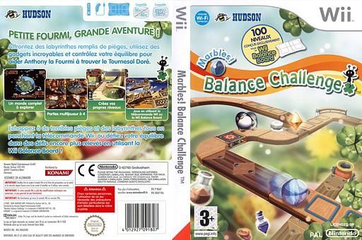 Marbles! Balance Challenge pochette Wii (RK6P18)