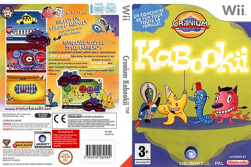 Cranium Kabookii pochette Wii (RKBP41)