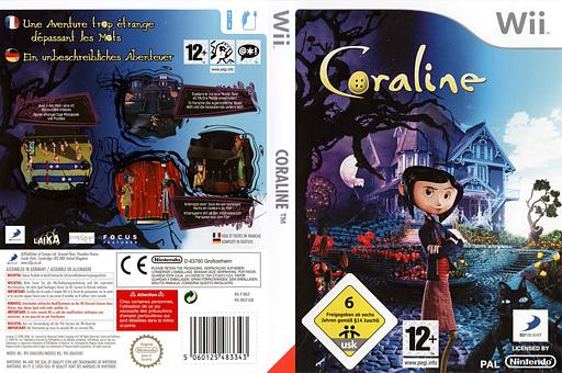 Coraline pochette Wii (RKLPG9)