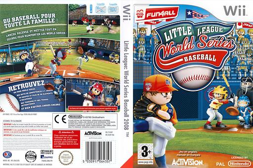Little League World Series Baseball 2008 pochette Wii (RLHP52)