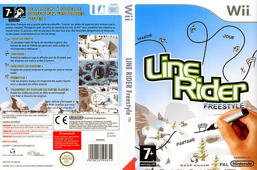Line Rider Freestyle pochette Wii (RLJPKM)