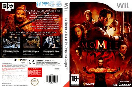 La Momie:La Tombe De L'empereur Dragon pochette Wii (RM5P7D)