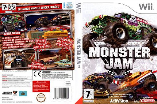 Monster Jam pochette Wii (RMOP52)