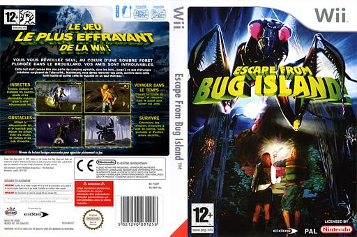 Escape From Bug Island pochette Wii (RN9P4F)