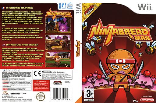 Ninjabread Man pochette Wii (RNMXUG)