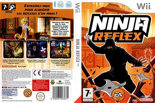 Ninja Reflex pochette Wii (RNZP69)