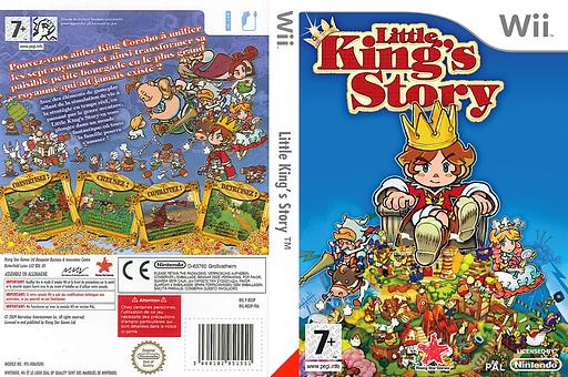 Little King's Story pochette Wii (RO3P99)