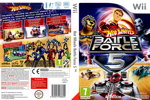 RO5P52 - Hot Wheels: Battle Force 5