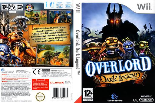 Overlord:Dark Legend pochette Wii (ROAP36)