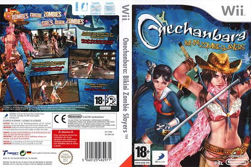 Onechanbara:Bikini Zombie Slayers pochette Wii (RONPG9)
