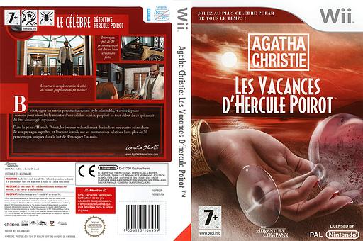 Agatha Christie:Les Vacances d'Hercule Poirot pochette Wii (RQEP6V)